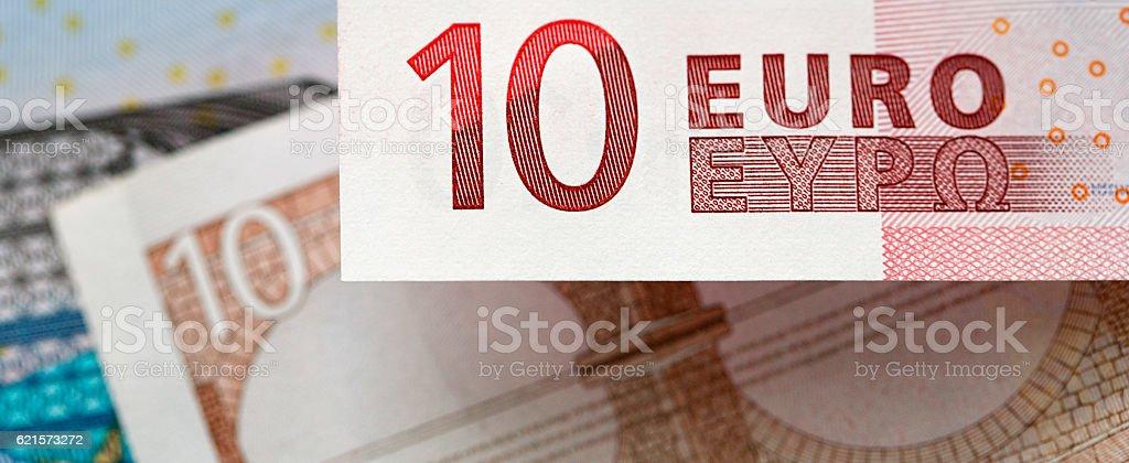 Ten Euro Note - European Currency photo libre de droits