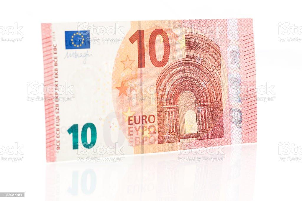 Zehn Euro beachten Sie-der Vorderseite – Foto
