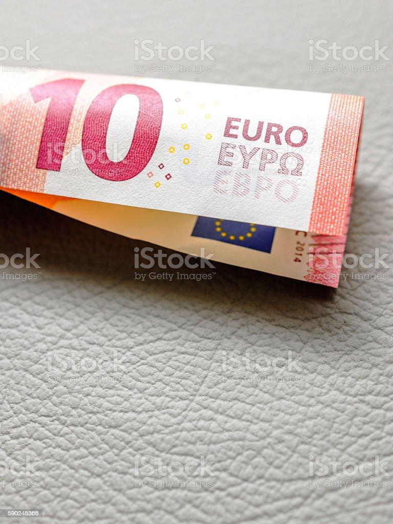 Zehn Euro U-Form – Foto