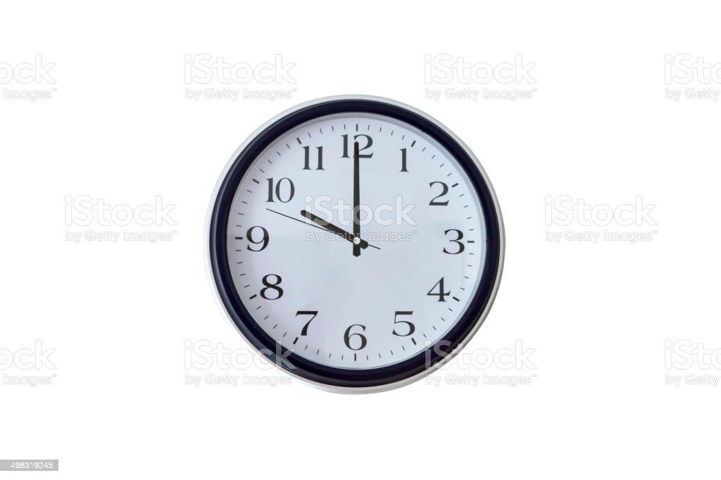 Ten o'clock royalty-free stock photo