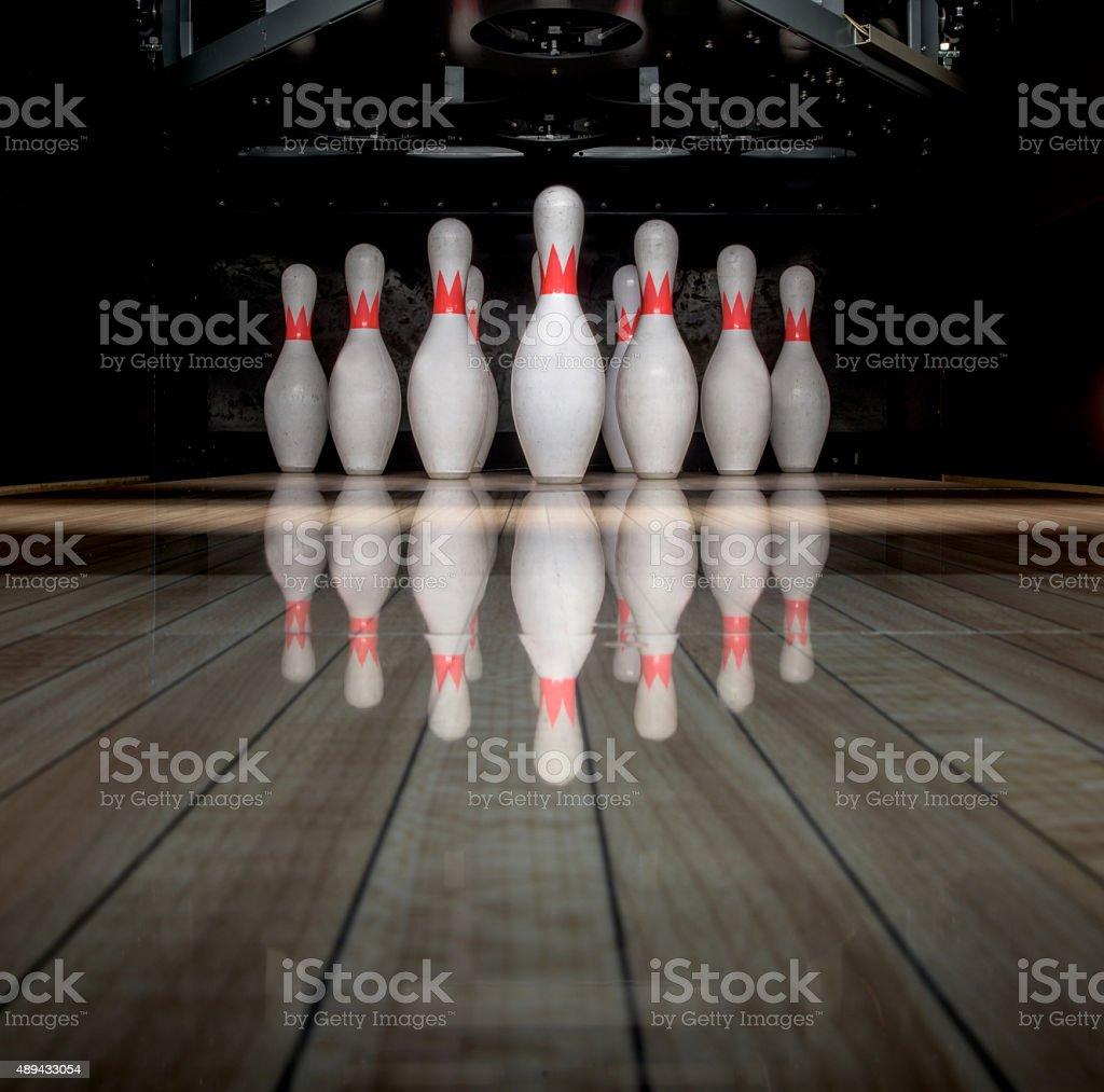 bowling - foto stock