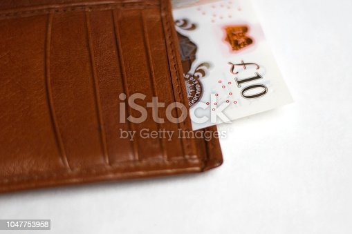 Ten pound bank note