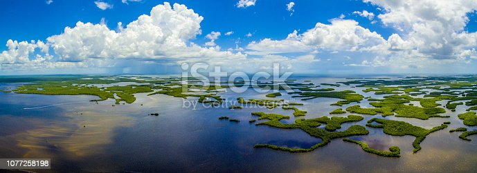 Ten Thousand Islands NP Aerial, FL