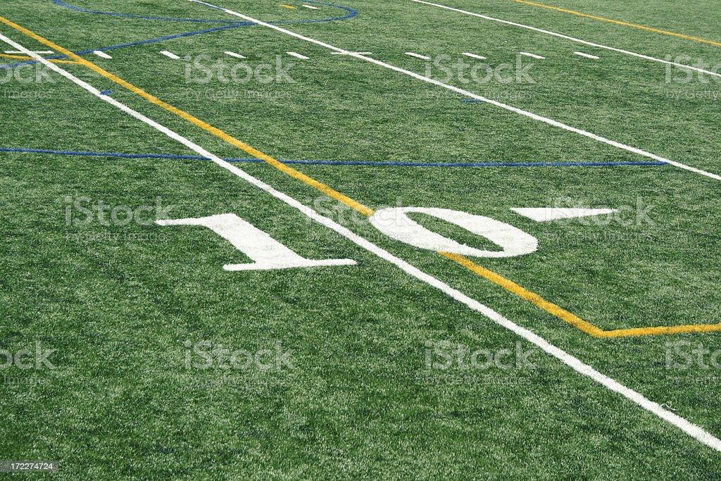 Ten Yards Line Stock Photo Download Image Now Istock