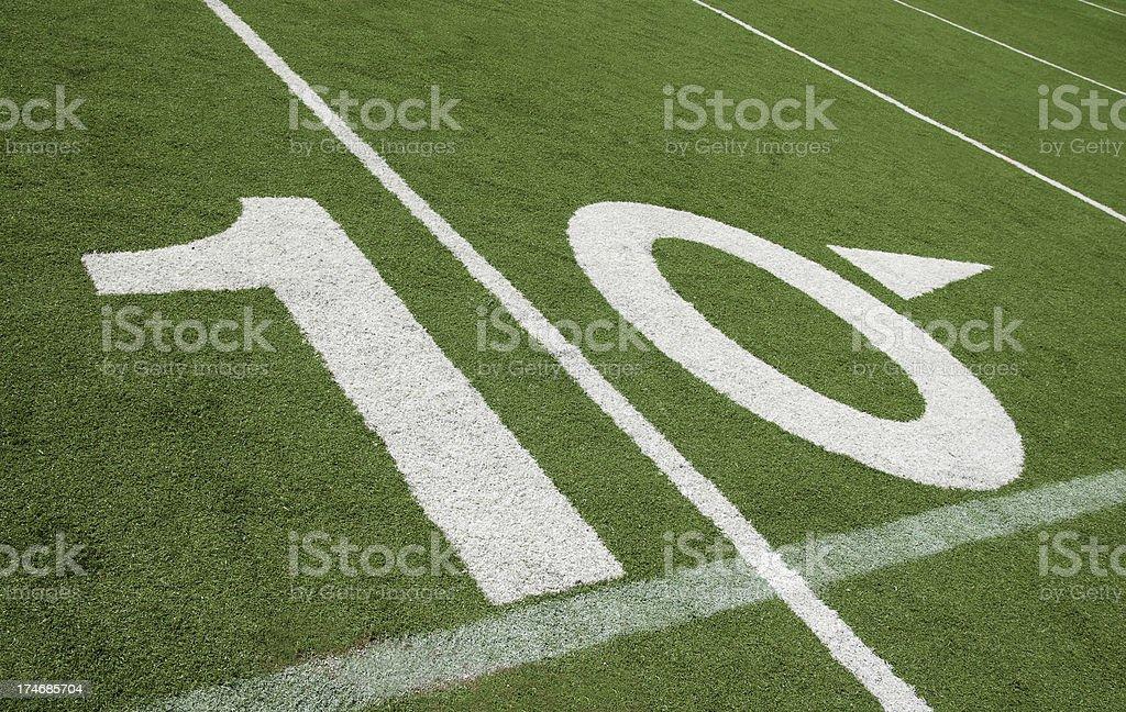 Ten Yards To Go Stock Photo Download Image Now Istock