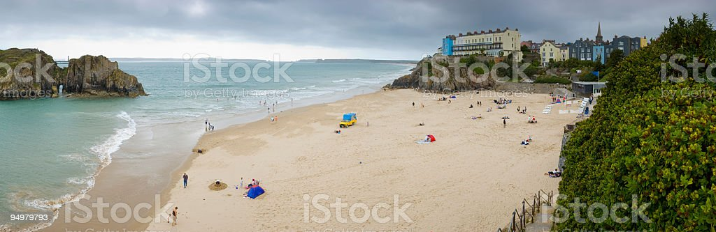 Tenby, Wales, UK royalty-free stock photo