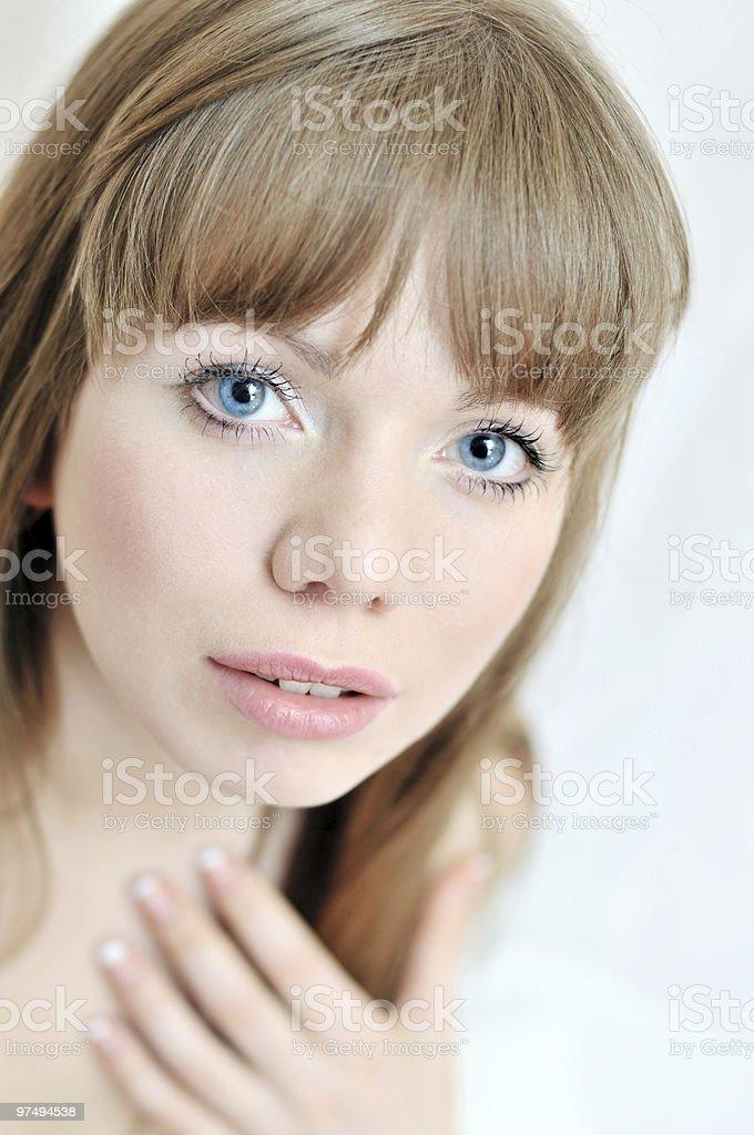 tender girl royalty-free stock photo