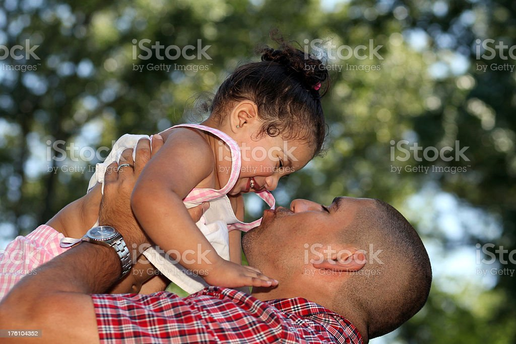 Tender Moment stock photo
