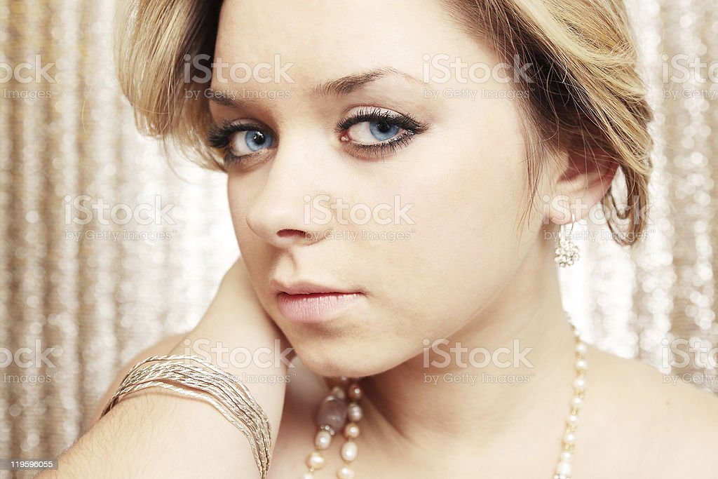 tender woman royalty-free stock photo