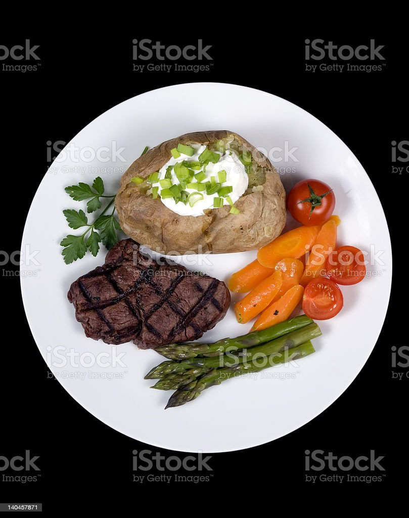 Tenderloin Steak 008 royalty-free stock photo