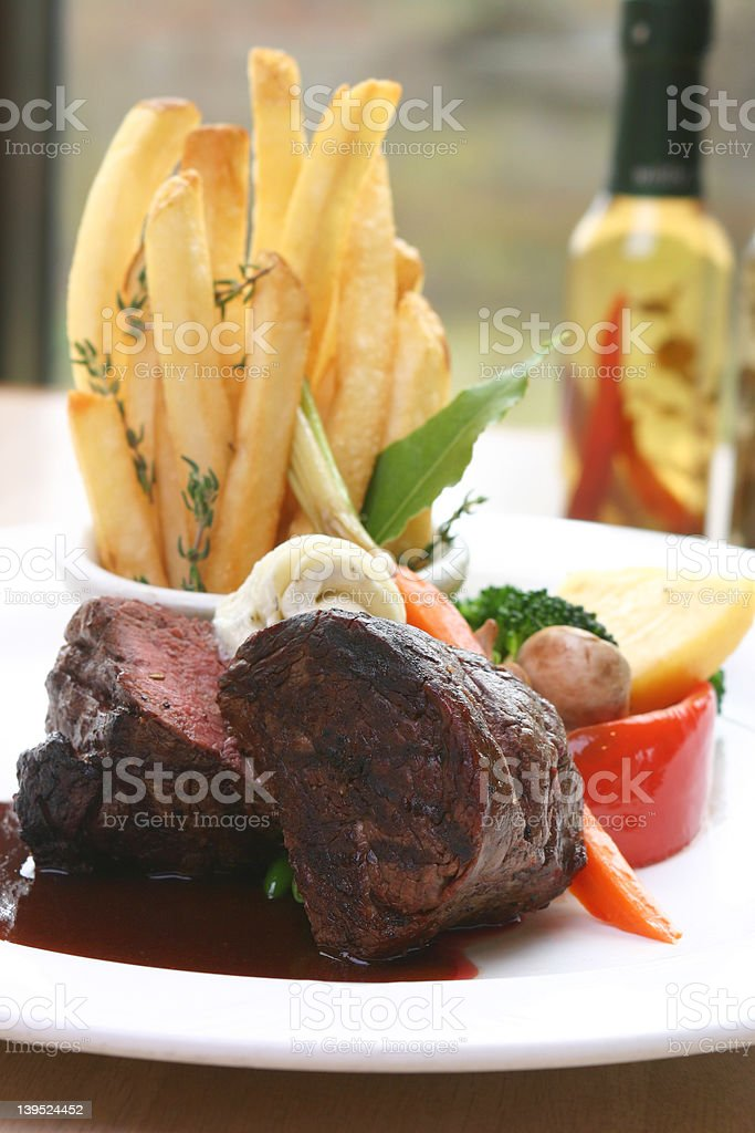 Tenderloin Steak stock photo