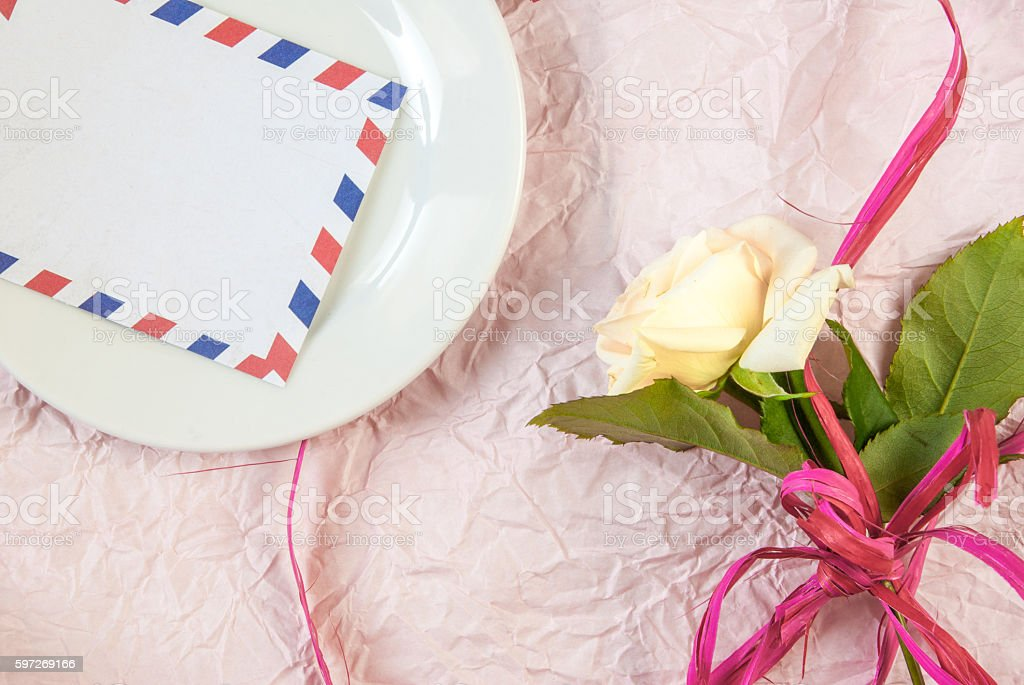 Tenderly pink roses Lizenzfreies stock-foto