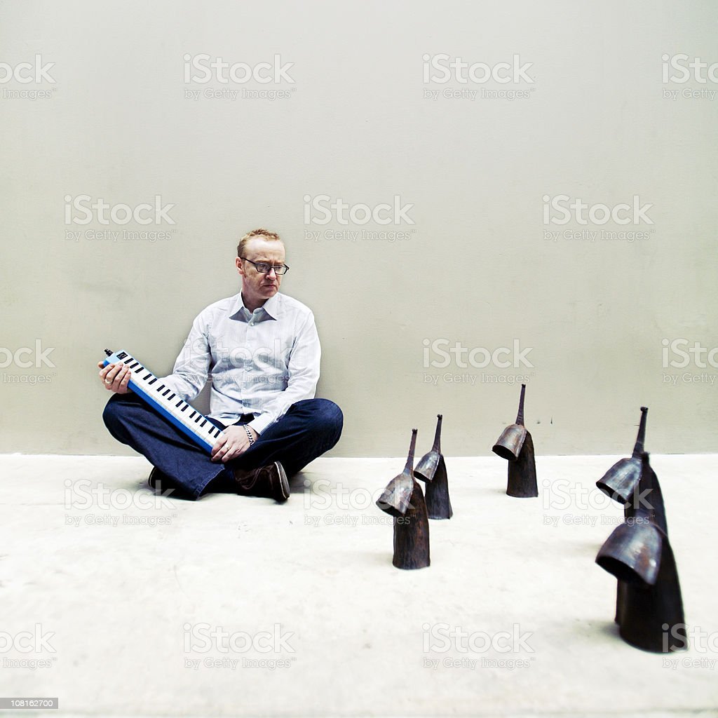 tending the bells royalty-free stock photo