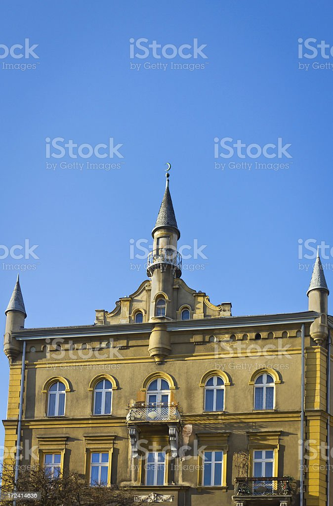 Tenement House royalty-free stock photo