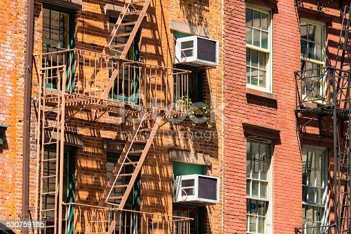 Tenement in Manhattan