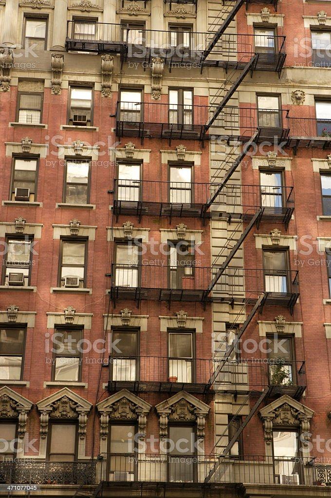 Tenement stock photo