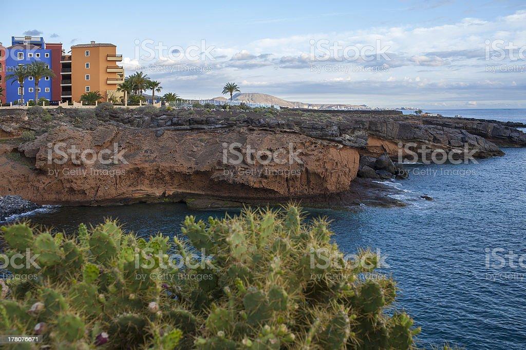 Tenerife coastline stock photo