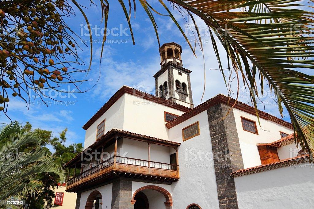 Tenerife - Santa Cruz stock photo