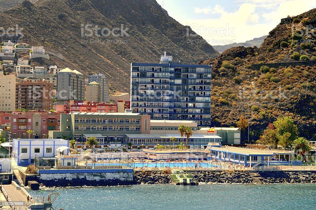 Tenerife Vacationers royalty-free stock photo