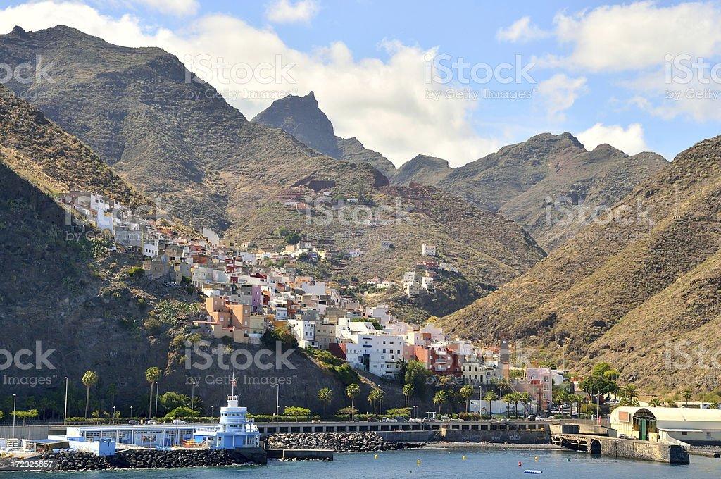 Tenerife Valle Seco Mountain Village royalty-free stock photo