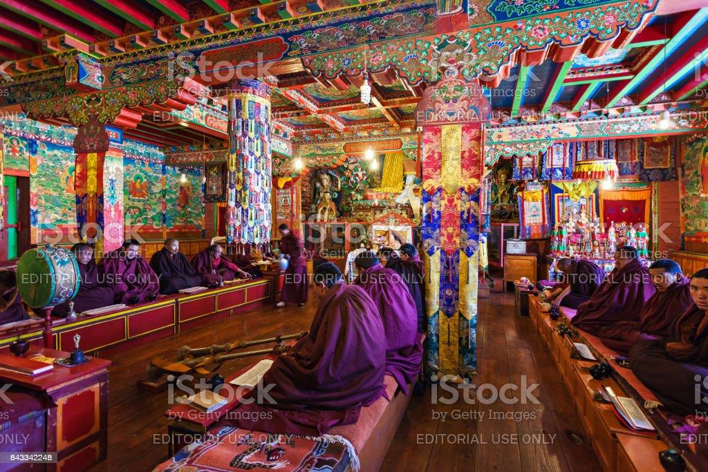 Tengboche Monastery, Nepal stock photo