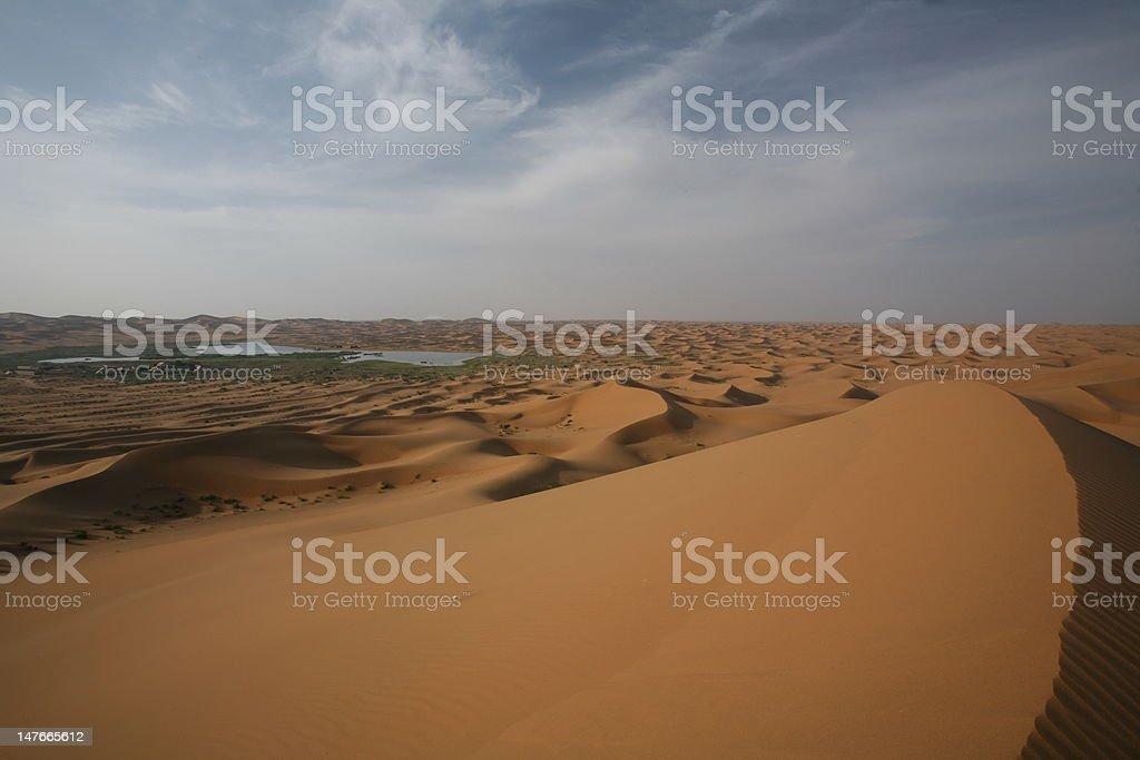 Tengger Desert IV - Ningxia, China stock photo