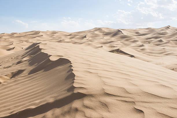 Tengger desert scenery stock photo