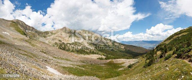 Tenmile Range Panorama, Rocky Mountains, Colorado, USA