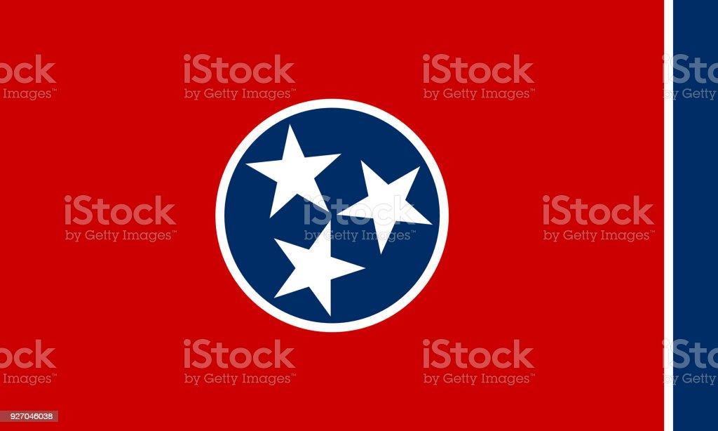 Bandeira de Tennesse - foto de acervo