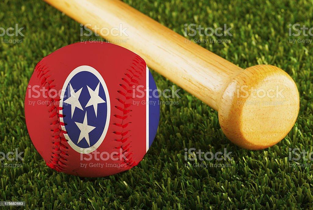 Tennessee Baseball stock photo