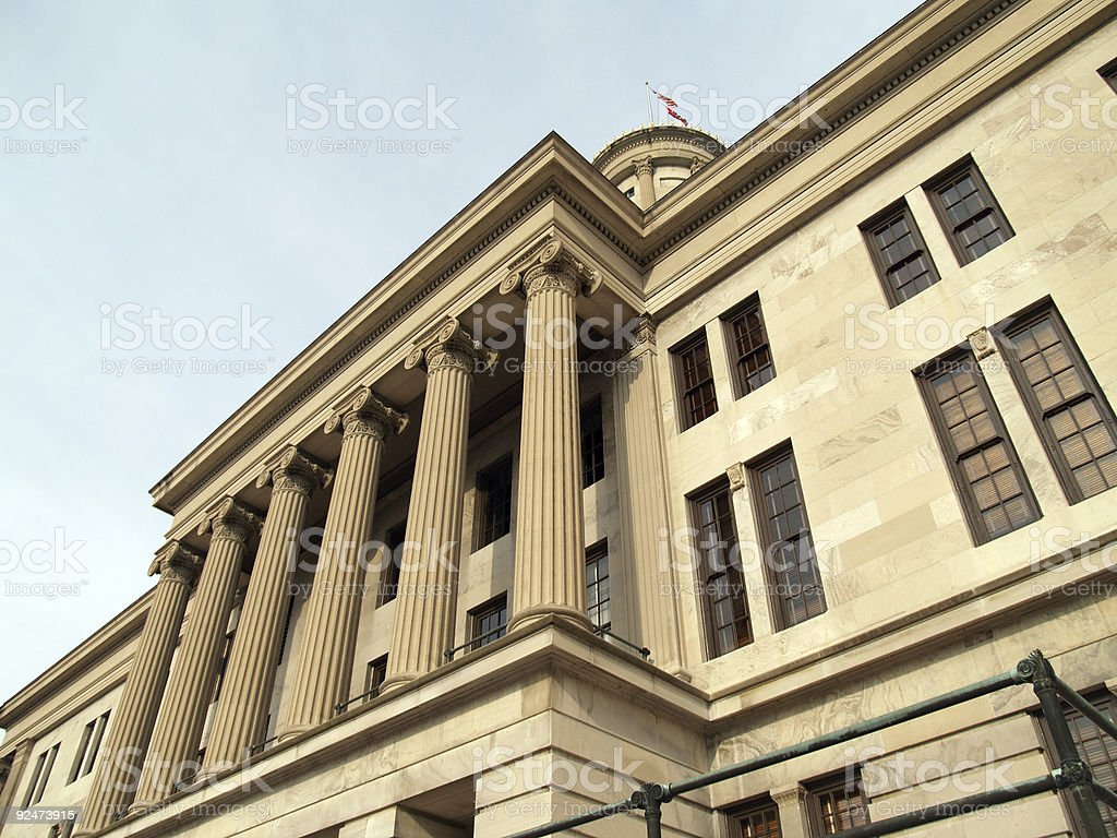 tennessee capitol2 royalty-free stock photo