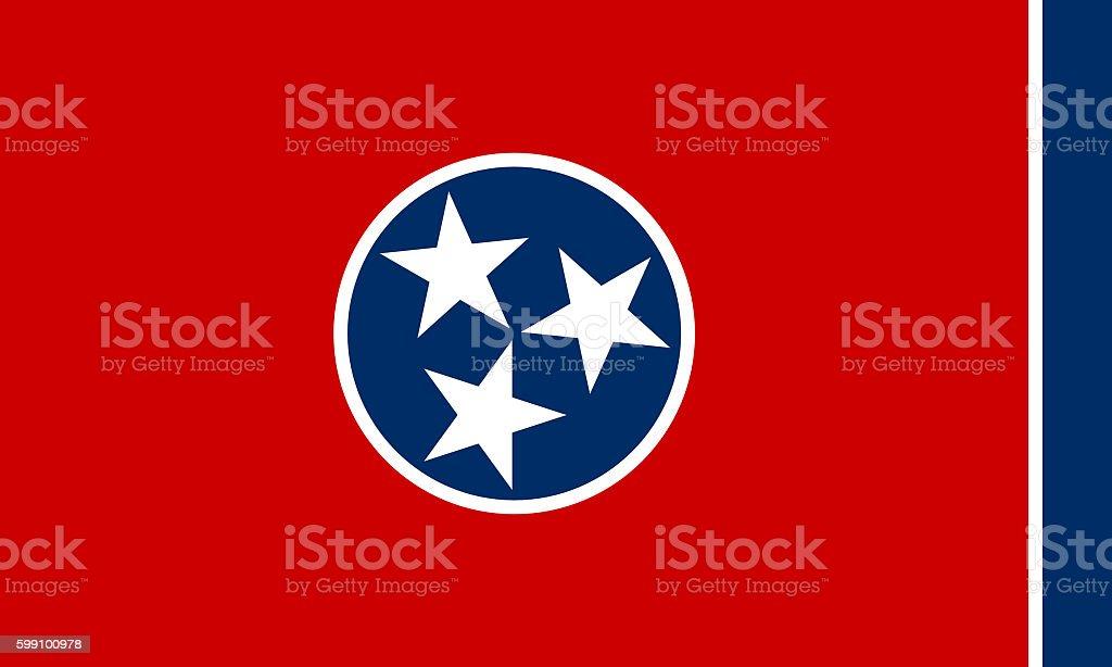 Bandeira do Tennessee - foto de acervo