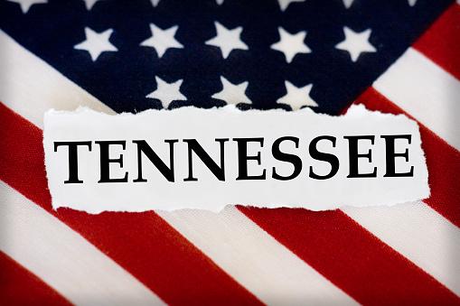Tennessee US Flag