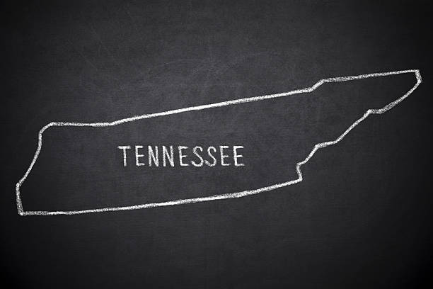 tennessee - tennessee map stock photos and pictures