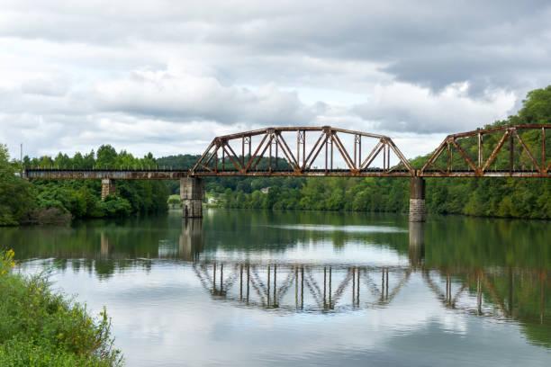 Tennessee River Bridge stock photo