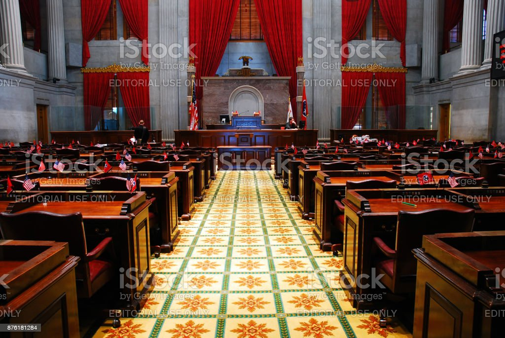 Tennessee State Assembly stock photo