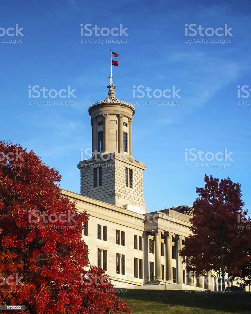 Tennessee State Capital Building stock photo
