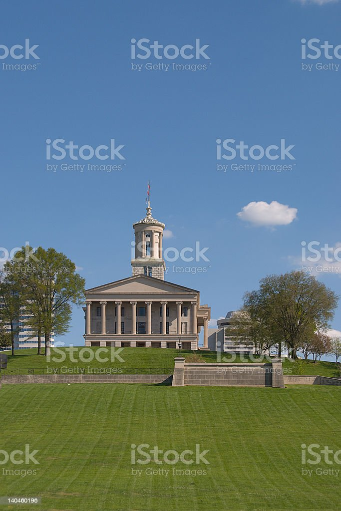 Tennessee State Capitol (Nashville) royalty-free stock photo