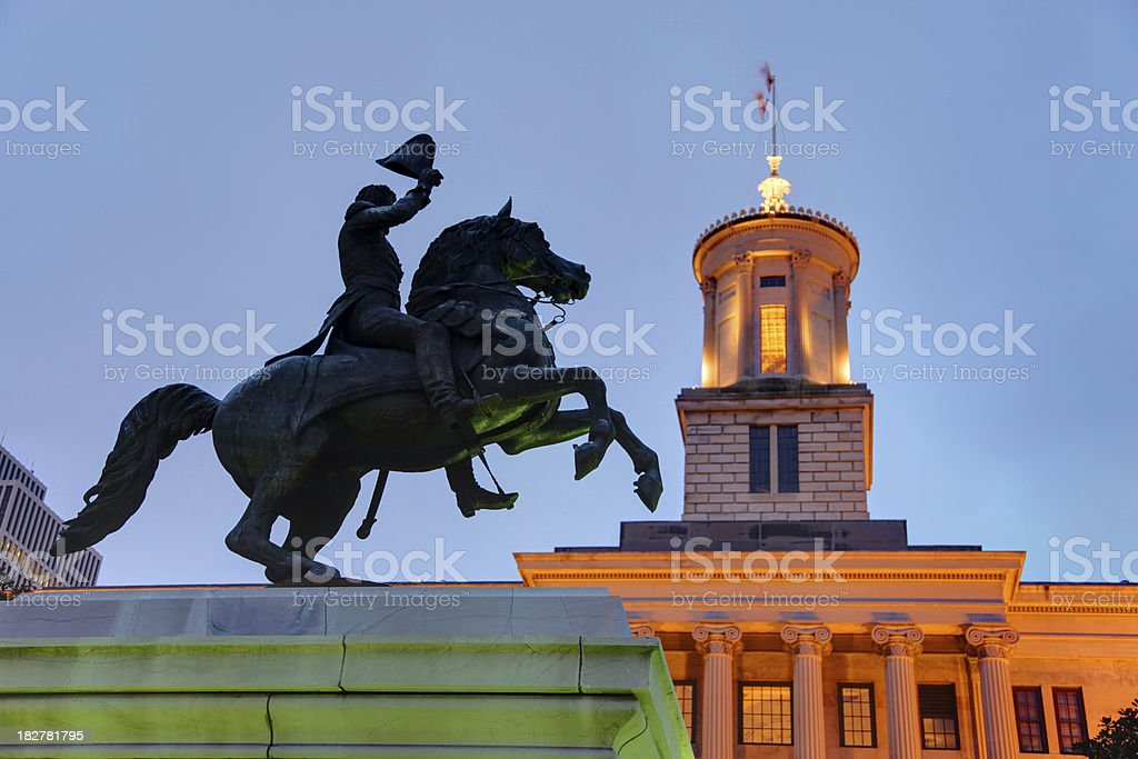 Tennessee State Capitol royalty-free stock photo