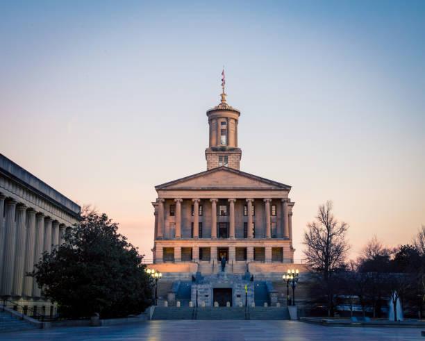 テネシー州議会議事堂 - 柱頭 ストックフォトと画像