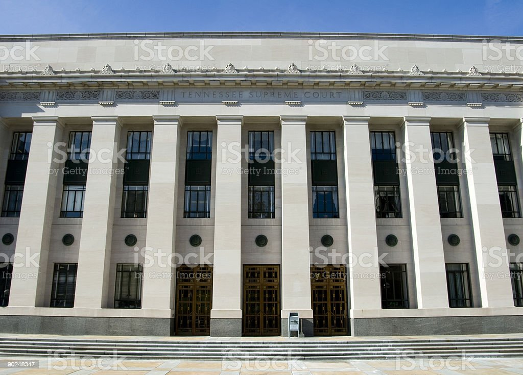 Tennessee Supreme Court royalty-free stock photo