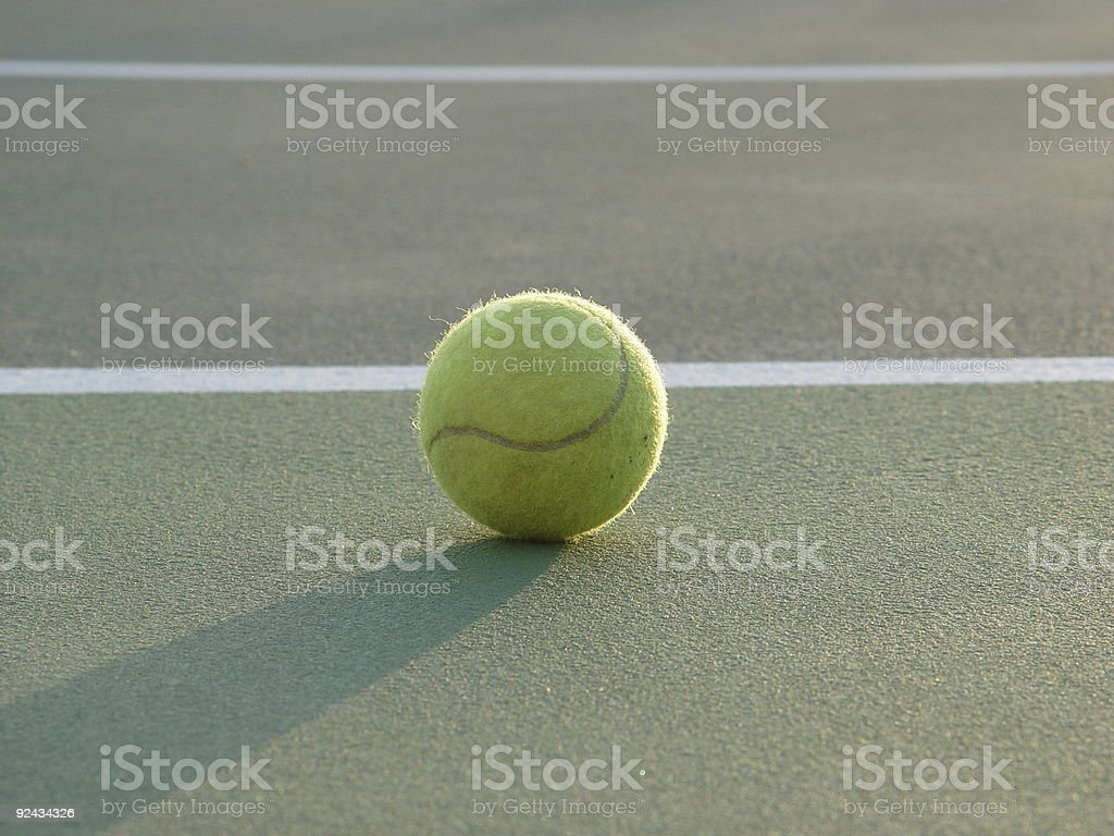 Tennis 4 royalty-free stock photo