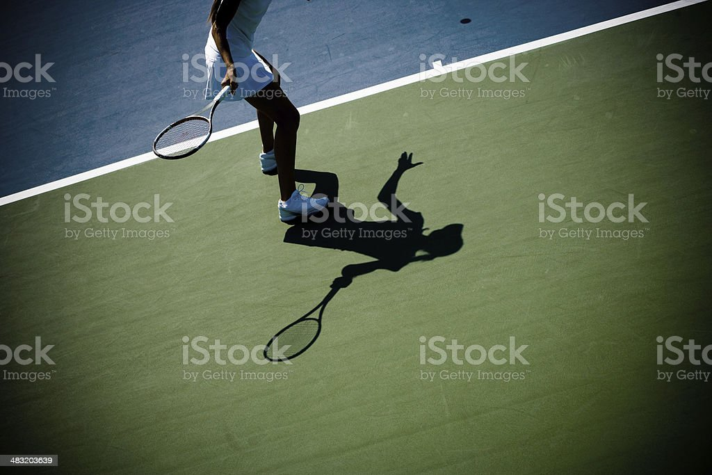 tennis abstract stock photo