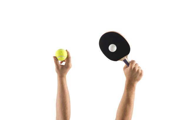 tennis and table tennis - rakietka do tenisa stołowego zdjęcia i obrazy z banku zdjęć