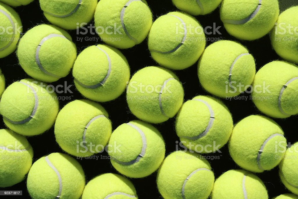 Tennis Ball Background Angled Stock Photo More Pictures Of