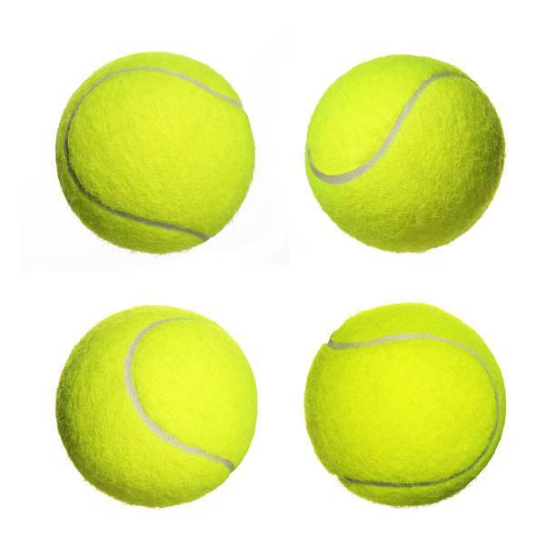 Balle de Tennis isolé de Collection - Photo