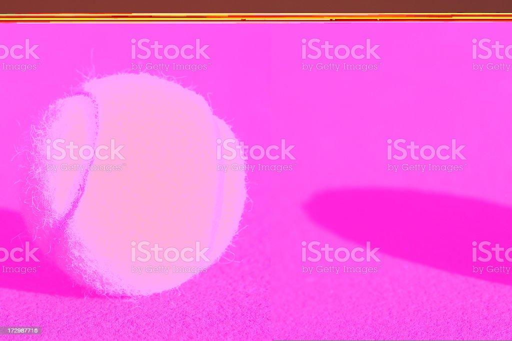 Tennis Ball Court Shadow royalty-free stock photo