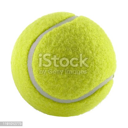istock tennis ball isolated without shadow - photography 1191012773