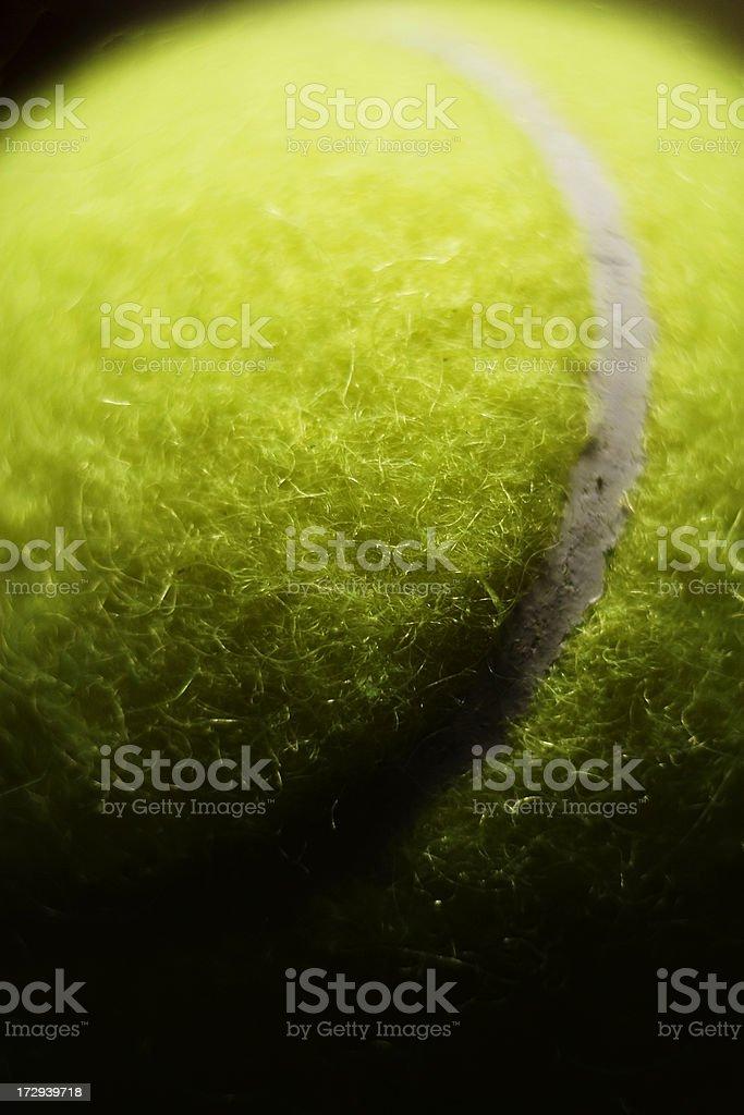 Tennis Ball Macro royalty-free stock photo