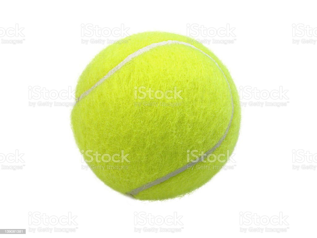 Tennisball stock photo